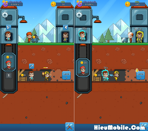 Hình ảnh LZ9m4EO của Tải game Idle Miner Tycoon - Quản lý mỏ vàng cực vui tại HieuMobile