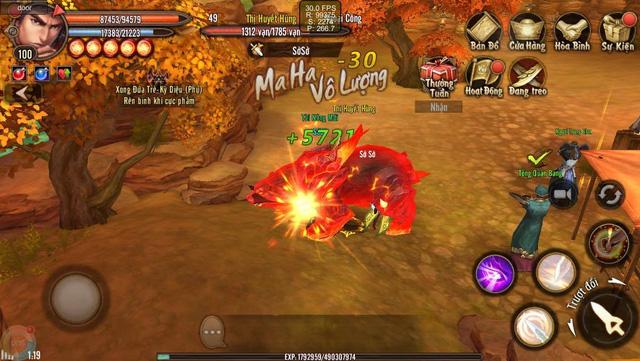Hình ảnh trong game Phong Vân 3D Mobile 2