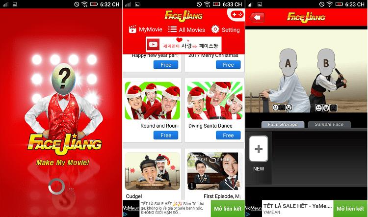 Hình ảnh Li3uIYz của Tải Facejjang - Ghép mặt vào video vui nhộn cho Android tại HieuMobile
