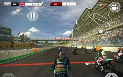 Hình ảnh trong game SBK16 - Đua moto khủng