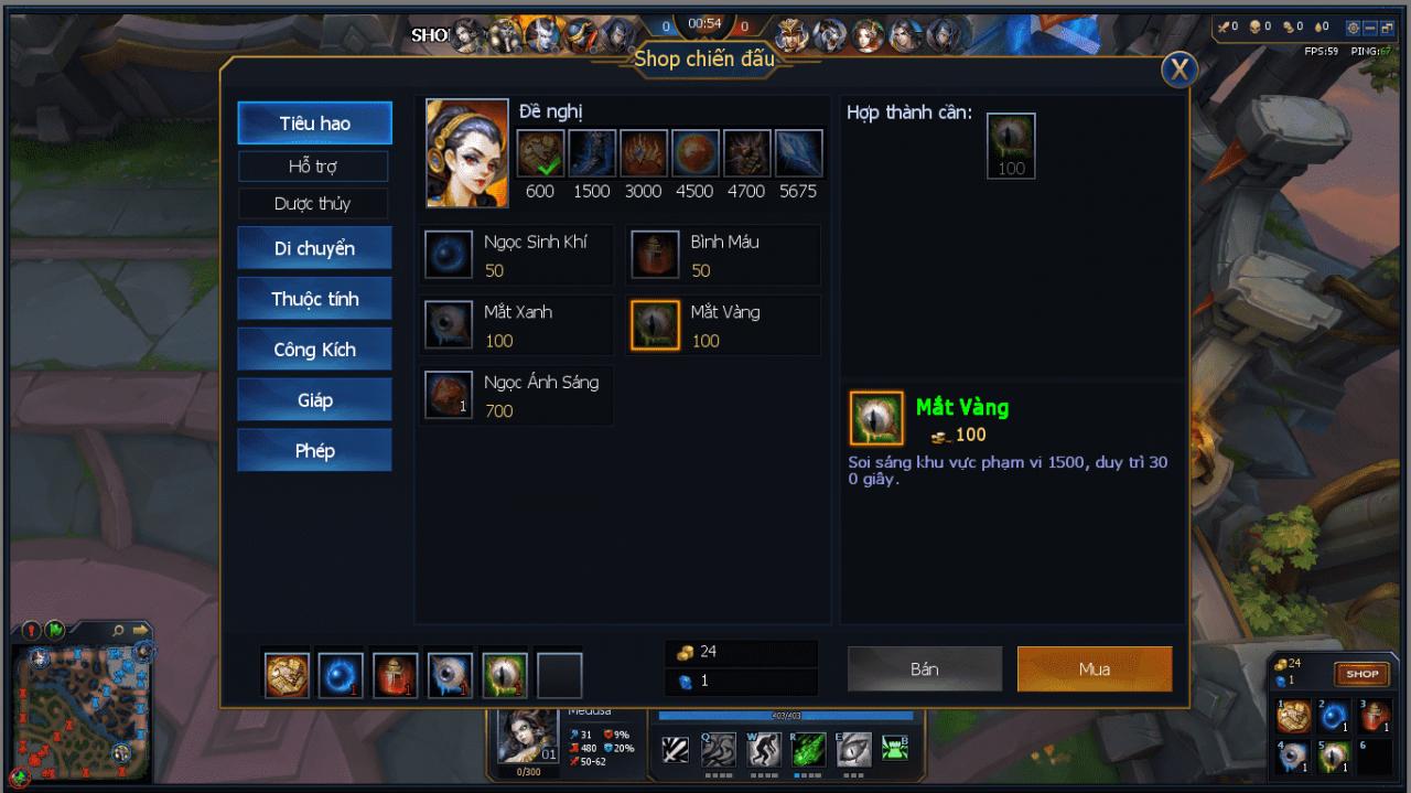 Hình ảnh của Cách chơi tốt tướng Medusa trong game Huyền Thoại Moba tại HieuMobile