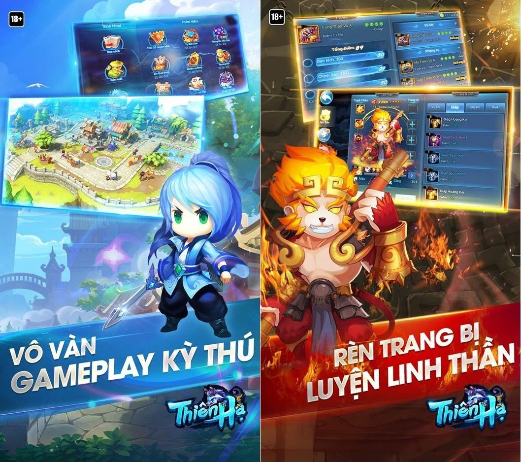 Hình ảnh trong game Thiên Hạ Garena