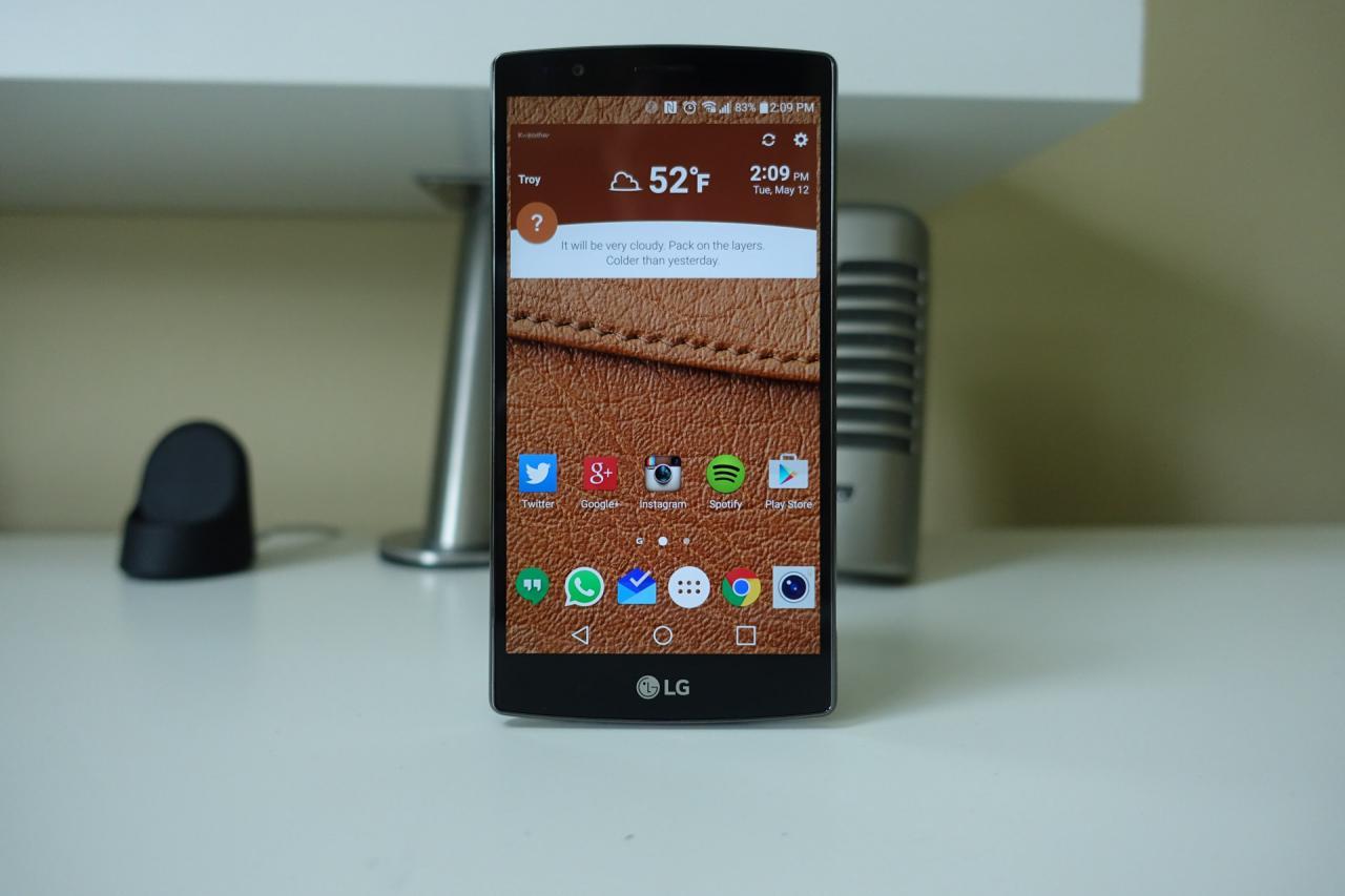 Nguyên nhân và cách khắc phục LG G4 bị đứng máy