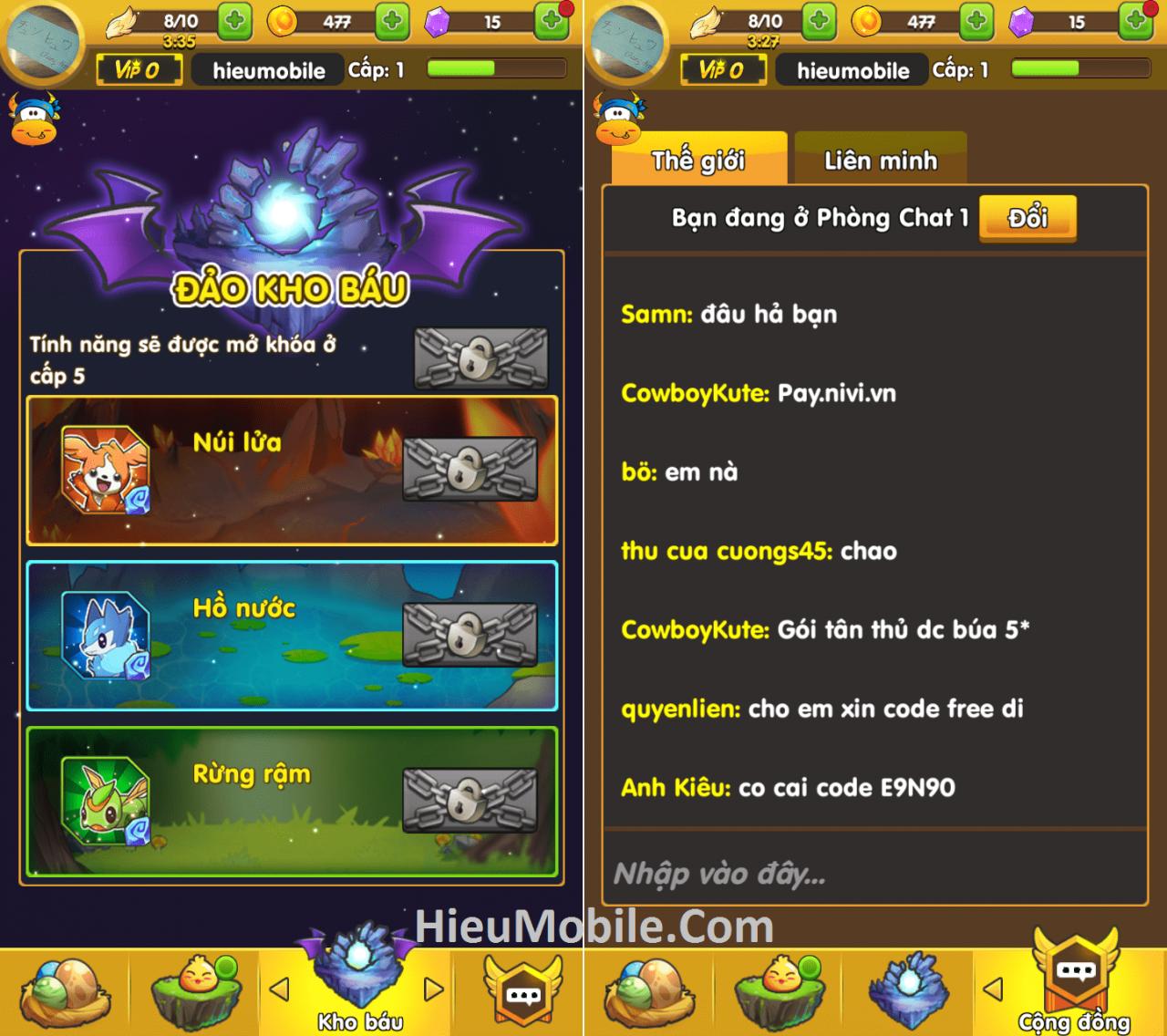 Hình ảnh MlFTTOH của Tải game Phi Đội Mobile - Bay bắn thú cưng hấp dẫn tại HieuMobile