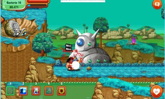 Hình ảnh boss Ở Dơ trong game Ngọc Rồng Online