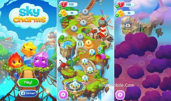 Hình ảnh NMWztTr của Tải game Sky Charms - Xếp giọt nước nhiều màu sắc tại HieuMobile