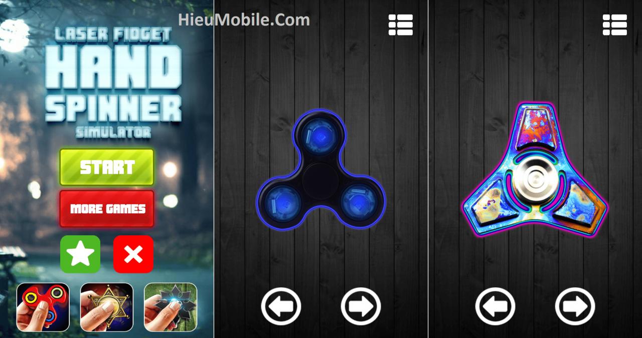 Hình ảnh NWww3Sm của Tải game Spinner cho điện thoại - Laser Hand Spin Simulator tại HieuMobile