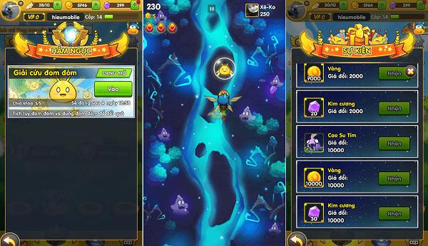 Hình ảnh NvRyZkY của Phi Đội Mobile phiên bản mới: nhiều đổi mới, mở tính năng Hầm Ngục tại HieuMobile