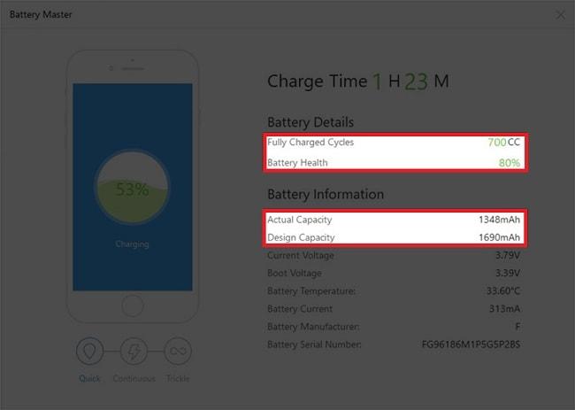 Hình ảnh PGGlPi7 của Làm thế nào để biết pin iPhone của mình đã bị chai? tại HieuMobile