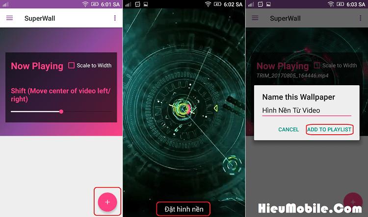 Hình ảnh PO3yWWl của Tải SuperWall - Đặt video làm hình nền có cả âm thanh tại HieuMobile
