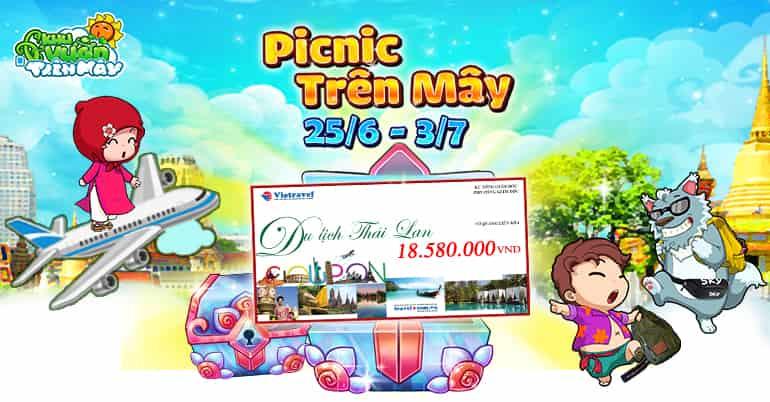 Giao dien moi Khu Vuon Tren May Mobile