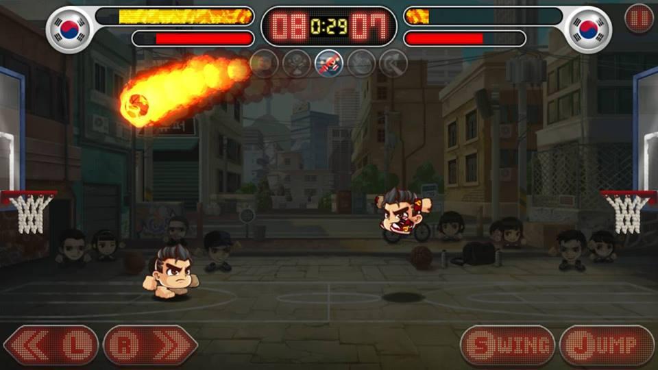 Hình ảnh trong game Head Basketball - Bóng Rổ Đầu To tại HieuMobile