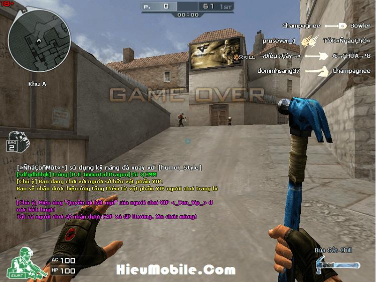 Hình ảnh Pfx62B2 của Đánh giá cận chiến Búa Sắt - Chill game Đột Kích: Mạnh mà khó chơi tại HieuMobile
