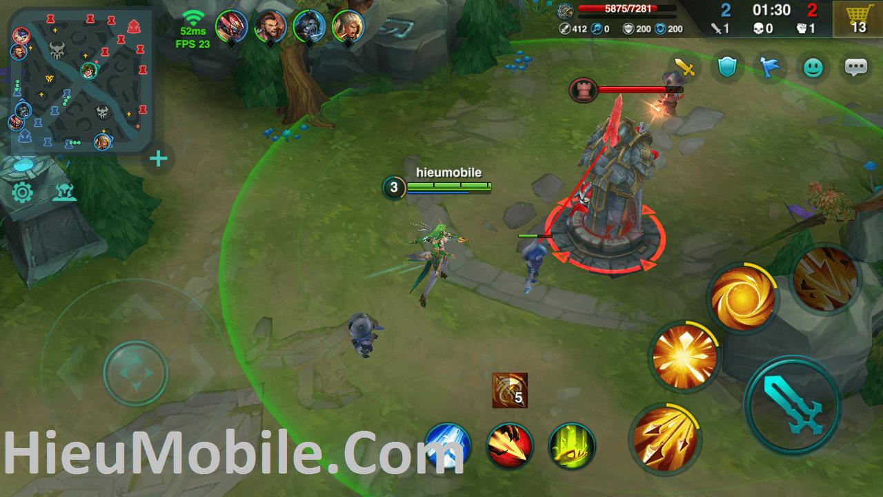 Hình ảnh Q3x8ErX của Cách chơi tốt các tướng trong game moba trên di động lẫn máy tính tại HieuMobile