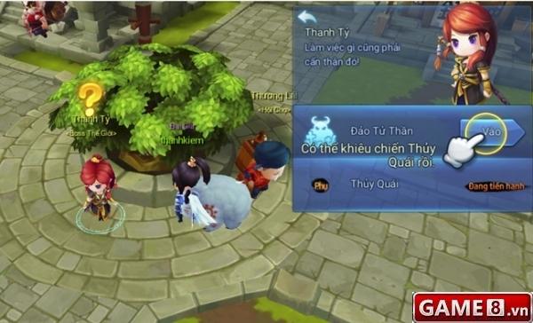 Pho ban Dao Tu Than trong game Thien Ha Garena