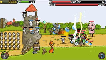Hình ảnh trong game Grow Castle - Pháo đài phòng thủ tại HieuMobile
