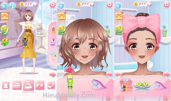 Hình ảnh RB3FSDE của Tải game Anime Girl Dress Up - Trang điểm bạn gái dễ thương tại HieuMobile