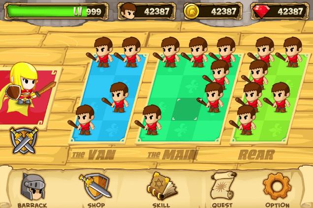 Hình ảnh trong game Pocket Army - Đội quân tí hon tại HieuMobile