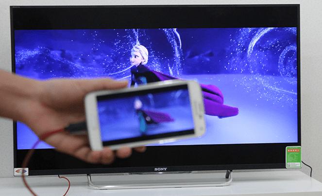 Hình ảnh RWRrxFR của Chỉ 50k nối điện thoại phát hình âm thanh lên tivi dễ dàng tại HieuMobile