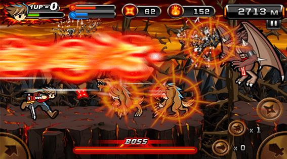 Hình ảnh trong game Ninja Devil - Ninja diệt quỷ 2