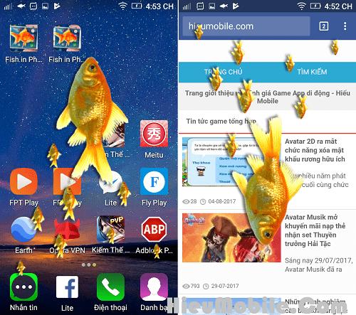 Hình ảnh SAwP7WR của Tải ứng dụng Cá bơi trên màn hình điện thoại tại HieuMobile