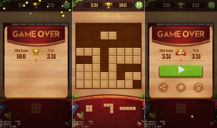Hình ảnh SKvbOjb của Tải game Wood Block Puzzle - Xếp hình phiên bản những khối gỗ tại HieuMobile