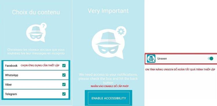 Hình ảnh SS0Zewv của Tải Unseen - Ẩn trạng thái đã xem tin nhắn Facebook trên Messenger tại HieuMobile