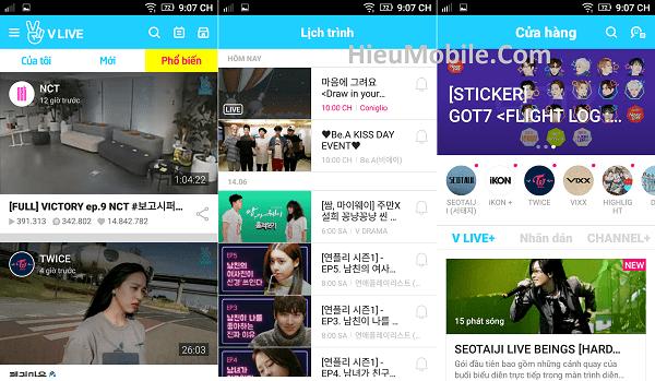 Hình ảnh Se4Onze của Tải V Live - Ứng dụng giao lưu cùng sao Hàn Quốc tại HieuMobile