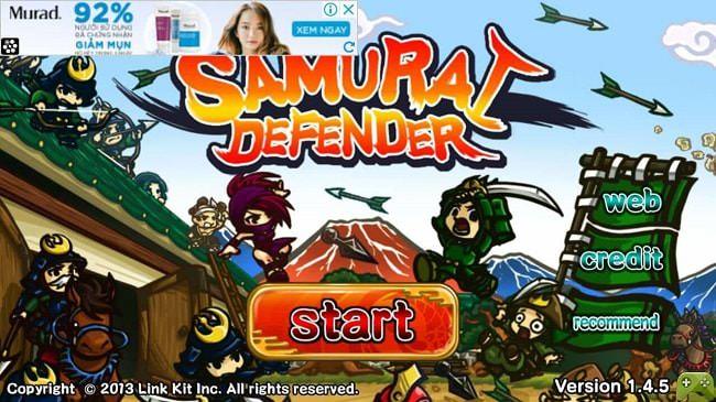 Hình ảnh SmqVmfF của Tải game Samurai Defender with Ninja - Samurai bảo vệ toà thành tại HieuMobile