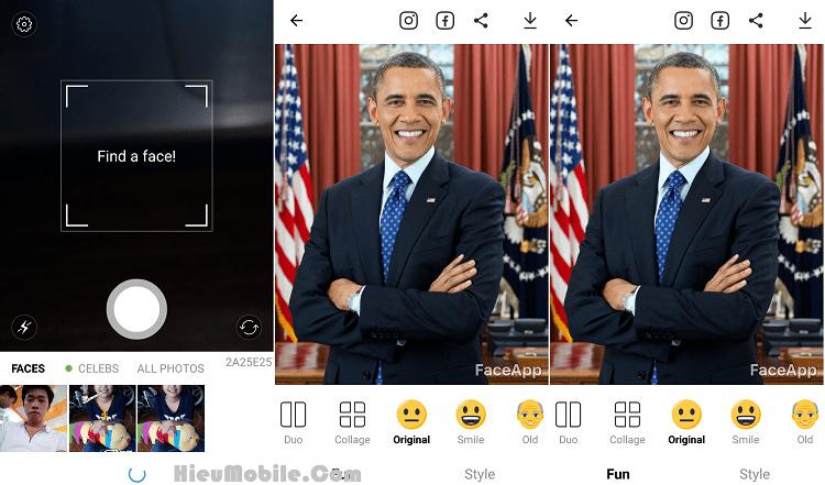 Hình ảnh TGE4Dq1 của Tải FaceApp - Ứng dụng biến đổi biểu cảm khuôn mặt cực hài hước tại HieuMobile