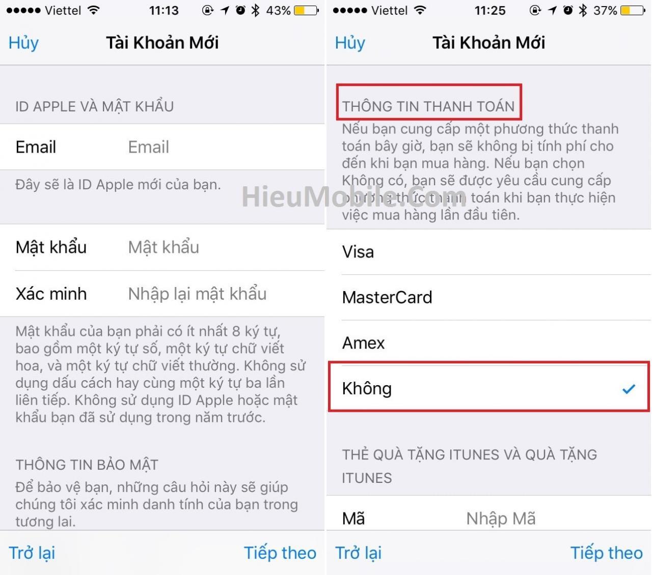 Hình ảnh TpkyvpW 1 của Hướng dẫn chi tiết 2 cách tạo tài khoản ID Apple cho iPhone iPab tại HieuMobile