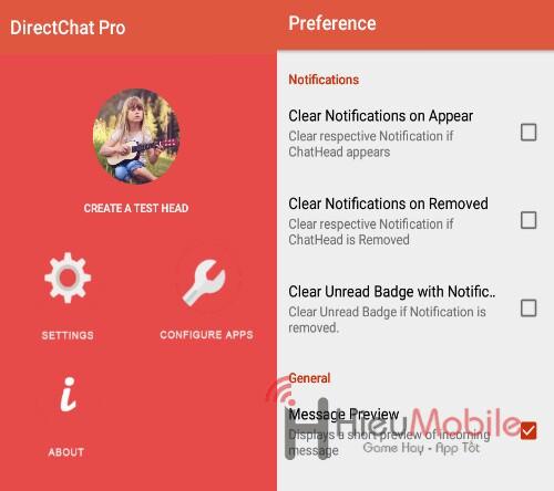 Hình ảnh TsDBeKi của Tải Derect Chat - Tạo bong bóng chat khi nhắn tin tại HieuMobile