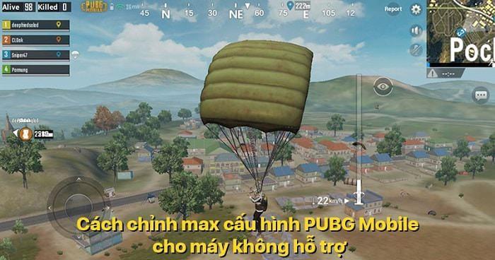 Hình ảnh TtvLMqE của Max setting FPS 60 game PUBG Mobile cho điện thoại chưa hỗ trợ tại HieuMobile