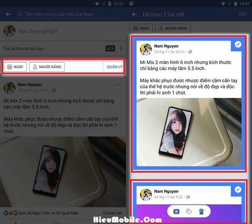 Hình ảnh Txn9GBB của Cách tìm lại các Status hay hình ảnh quá khứ trên Facebook nhanh nhất tại HieuMobile