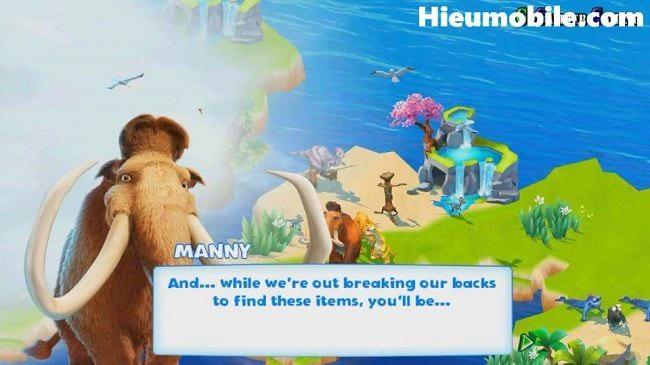 Hình ảnh UGoTxtt của Tải game Ice Age Adventures - Quản lý vườn thú kỷ băng hà tại HieuMobile