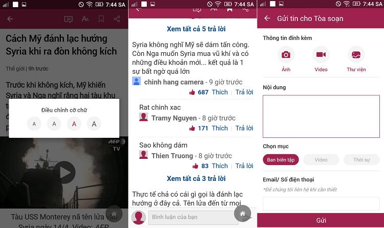 Hình ảnh UHVnLiy của Tải VnExpress - Ứng dụng đọc báo trên điện thoại đa tiện ích tại HieuMobile