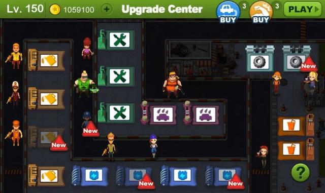 Hình ảnh trong game Tiny Station - Quản lý trung tâm bảo dưỡng xe tại HieuMobile