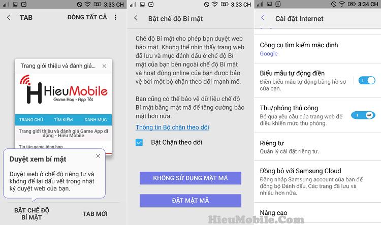 Hình ảnh Up4mncm của Tải Samsung Internet Browser - Trình duyệt nhiều tính năng đặc biệt tại HieuMobile