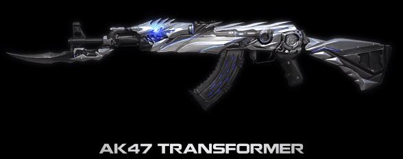 Hình ảnh VC4R4QL của Giới thiệu vũ khí VIP AK47 Transformer trong game Crossfire Legends tại HieuMobile