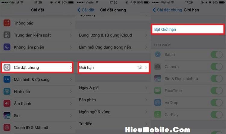 Hình ảnh VCZHOd0 của Làm sao để tắt ẩn các ứng dụng mặc định có sẵn trên iPhone tại HieuMobile