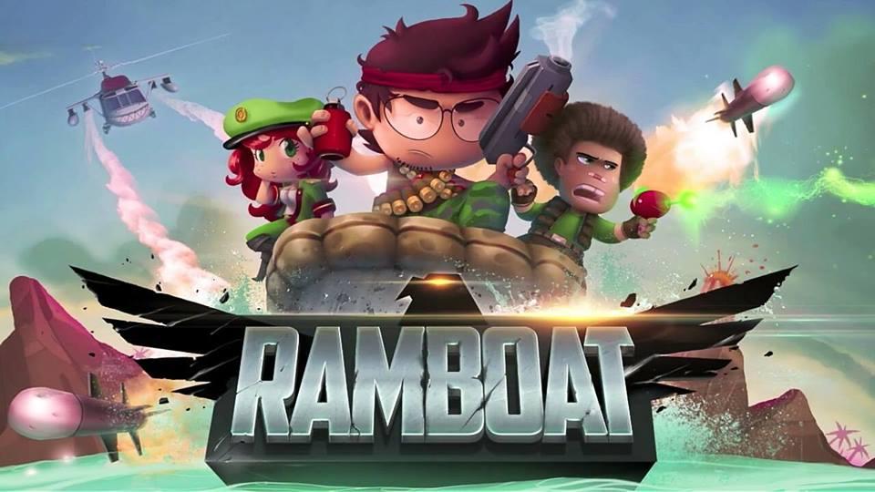 Hình ảnh trong game Ramboat - Du kích trên nước tại HieuMobile