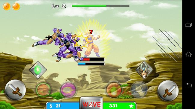 Hình ảnh VUWW6qH của Tải game Saiyan Goku For Super Fight - Goku đại chiến tại HieuMobile
