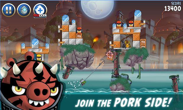 Vận dụng kiến thức ngoài đời thật để chơi game - Tải Game Angry Birds Star Wars II