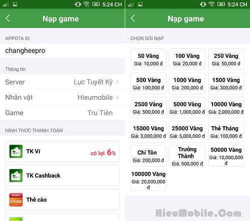 Hình ảnh Vnl9wbr của Hướng dẫn các cách nạp thẻ vào game Tru Tiên 3D Mobile tại HieuMobile