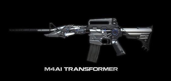Hình ảnh W2gasIo của Cảm nhận độc đáo M4A1 Transformer trong game Crossfire Legends tại HieuMobile