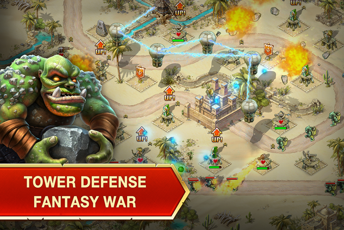 Tải game chiến thuật Toy Defense 3: Fantasy Towers