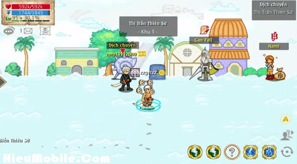 Hình ảnh WbpNPuR của Hải Tặc Tí Hon 042 : Thị trấn thiên sứ, vượt thác và vé tham quan tại HieuMobile