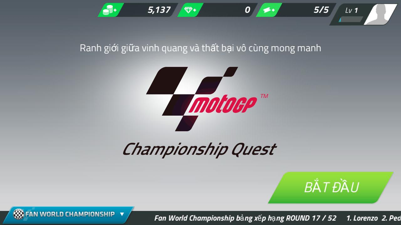 Hình ảnh XE16F6I của Tải game MotoGP Race Championship Quest tại HieuMobile