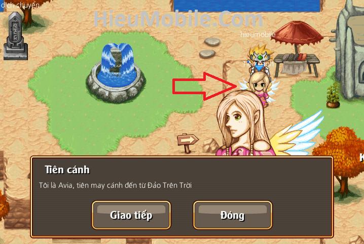 Hình ảnh XkqWiKV của Toàn tập về chức năng Cánh trong game Thời Đại Hiệp Sĩ Online tại HieuMobile