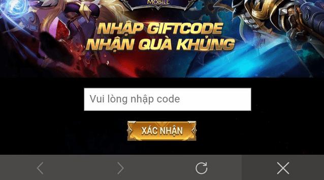 Hình ảnh Y3YLRqa của Hướng dẫn nhận và sử dụng giftcode game Liên Quân Mobile tại HieuMobile